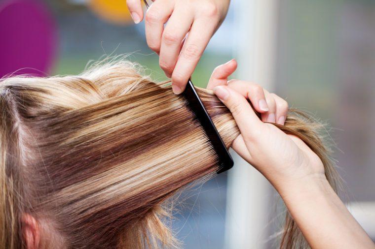 Как сделать мелирование волос самим