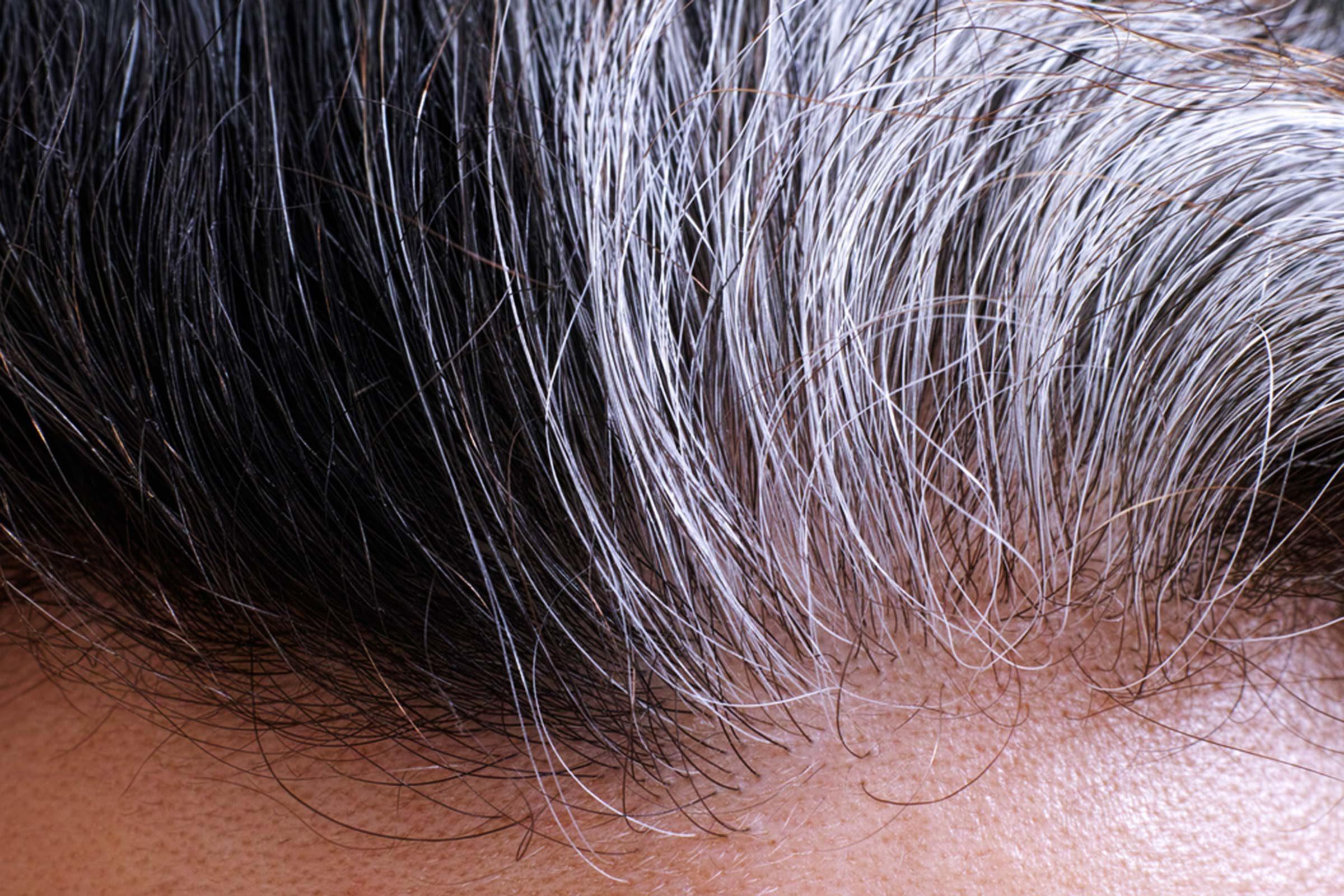 Faites preuve de patience avec vos cheveux gris