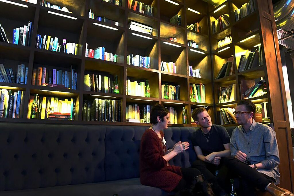 group-with-bookshelves