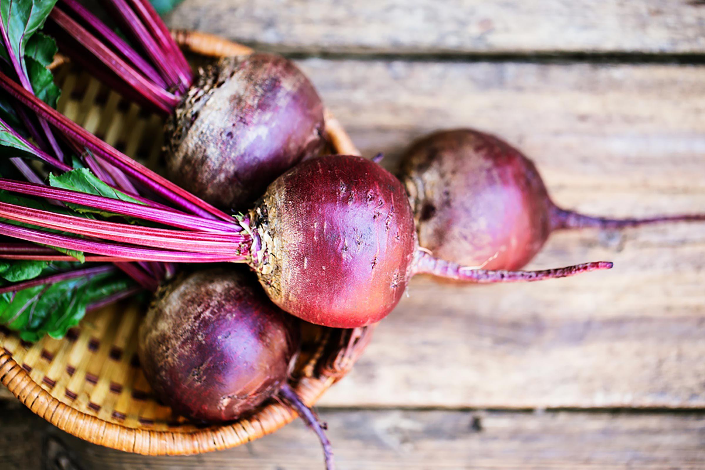 Fruits et légumes d'automne : betteraves