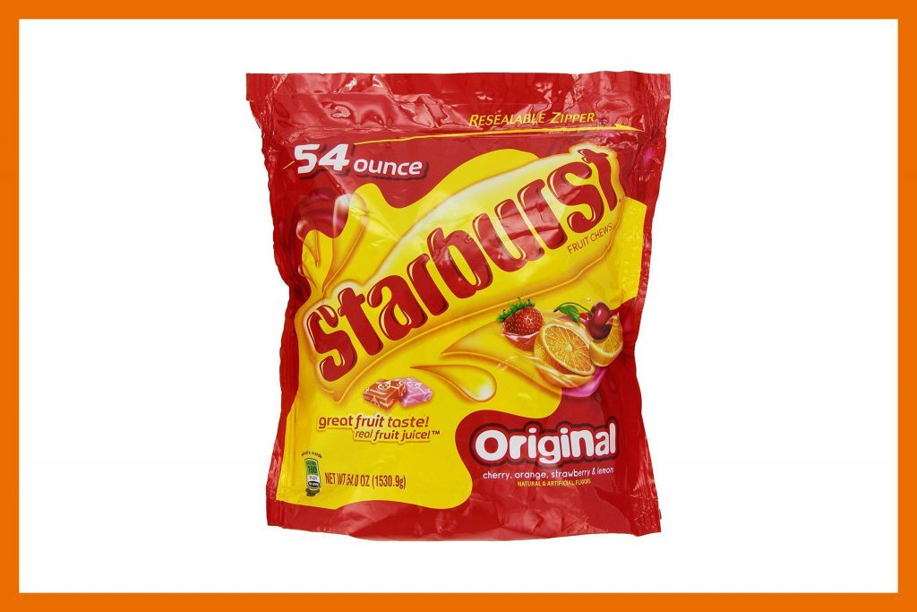 starbursts - Top Ten Halloween Candies
