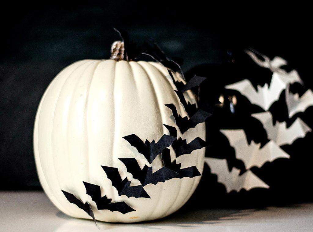 No carve pumpkin decorating ideas reader 39 s digest for White pumpkin designs